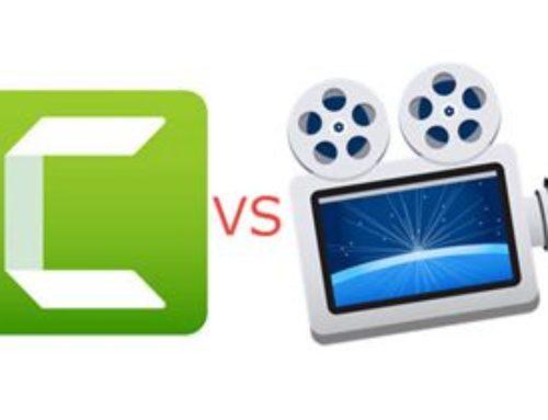比較:CamtasiaとScreenflow