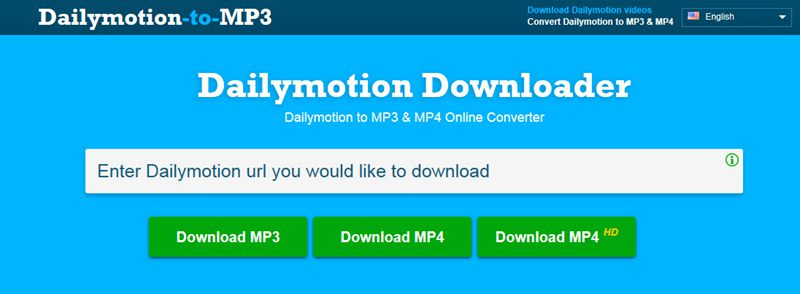 dailymotion mp3 変換, Dailymotion-to-MP3